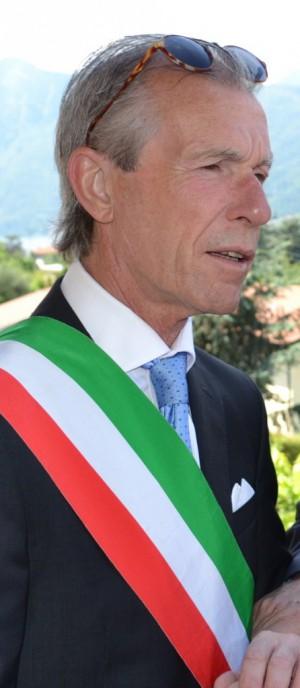 Il sindaco di Varenna, Carlo Molteni.