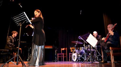 Il Bolling Jazz Quartet esibitosi ieri sera al Teatro San Lorenzo di Mandello.