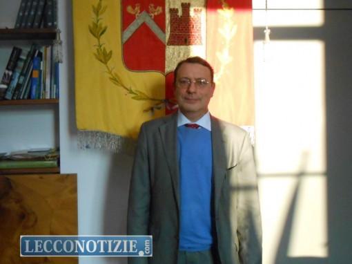 Il sindaco di Calolzio, Cesare Valsecchi