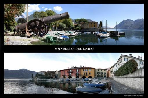 Mandello in due suggestivi scorci fotografati da Celestino Panizza.