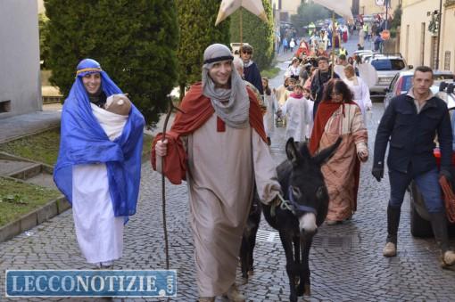 Il corteo dell'Epifania a Galbiate