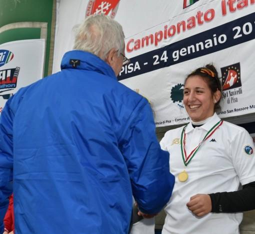 Vittoria e titolo italiano per Giorgia Pelacchi, di Abbadia Lariana.