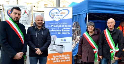 Da sinistra Riccardo Fasoli, Antonio Bartesaghi, Cristina Bartesaghi e Edoardo Zucchi.