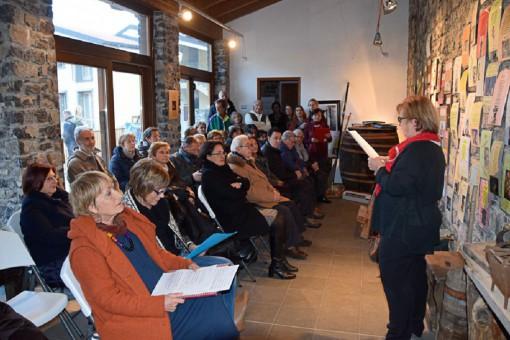 Un momento dell'iniziativa proposta il pomeriggio dell'Epifania al Torchio di Somana (foto Francesco Gala).
