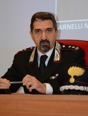 Il tenente colonnello Alessandro Giuliani