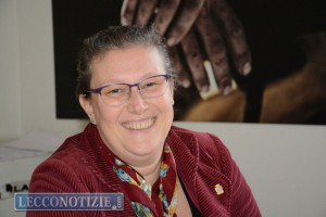 L'assessore Anna Mazzoleni