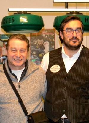 Maurizio Riviera (a sinistra) e Gabriele Riccardi.