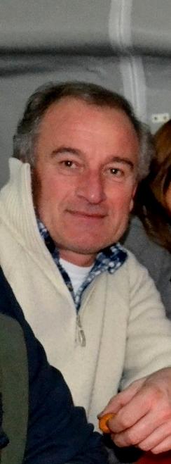 Renato Zucchi, presidente del Gruppo amici di Luzzeno.
