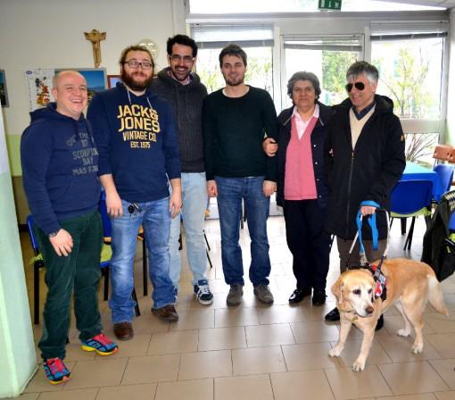 Da sinistra Riccardo Scotti, Gianluca D'Arasmo, Luca Picariello, Andrea Santini, Cristina Bartesaghi e Silvano Stefanoni.