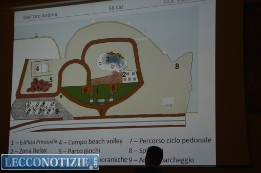"""Uno dei progetti dell'istituto """"Bachelet"""" di Oggiono"""