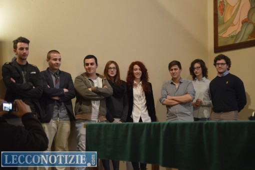 """Gli studenti dell'istituto """"Bovara"""""""