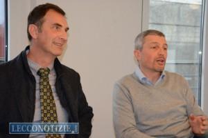 Luigi Sabadini (presidente Api) e Luigi Pescosolido (ApiTech)