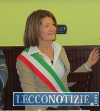 il sindaco di Monte Marenzo Paola Colombo