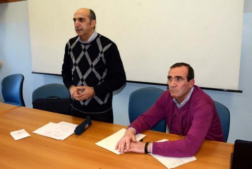 L'assessore Rizzolino e il dirigente Falcone all'incontro con i genitori