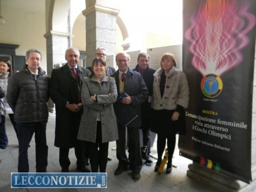 L'inaugurazione della mostra a Palazzo Bovara dedicata alle donne