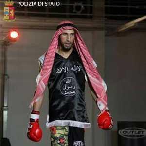 Moutaharrik Abderrahim, classe 1993, atleta di kickboxing, arrestato nell'operazione anti terrorismo