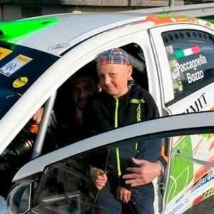 Michele Barra e le auto da rally, la sua grande passione.
