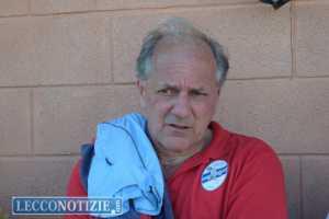 L'allenatore del Lecco Stefano Cuoghi