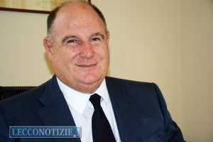 Antonio Peccati, presidente di Confcommercio Lecco