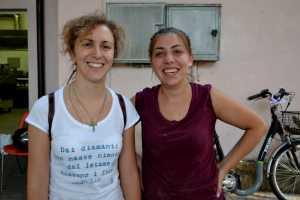 Raffaella Maria Iorio e Anna Ariasi, promotrici del progetto unitamente a