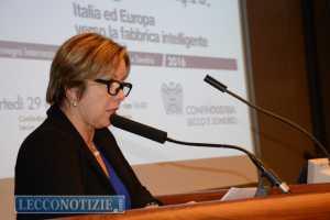 Cristina Galbusera, presidente Confindustria Lecco Sondrio