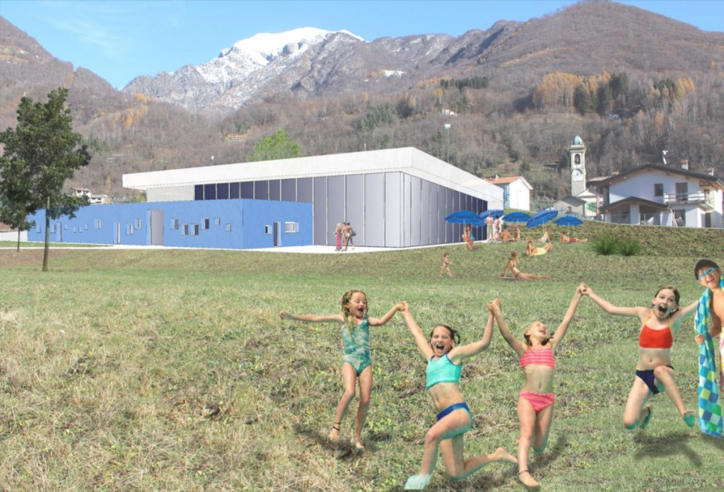 Barzio presentato ai sindaci della valsassina il progetto for Costi di costruzione della piscina