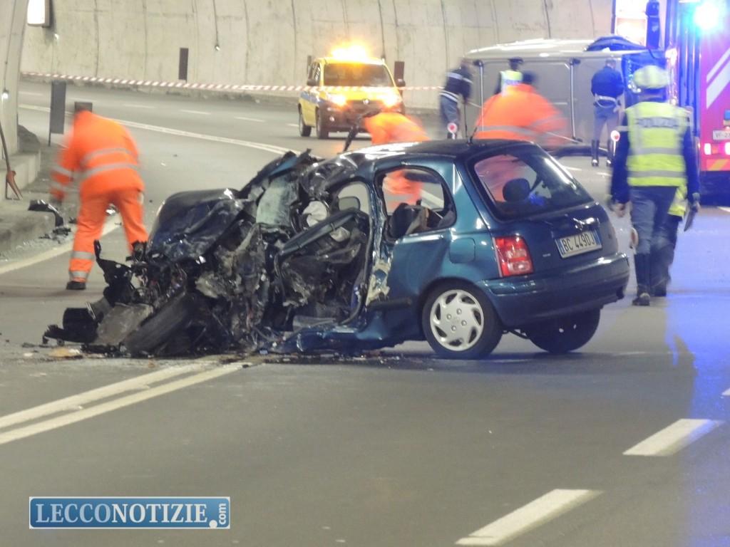 Grave incidente sulla nuova Lecco Ballabio: un morto e due feriti - Lecco  Notizie