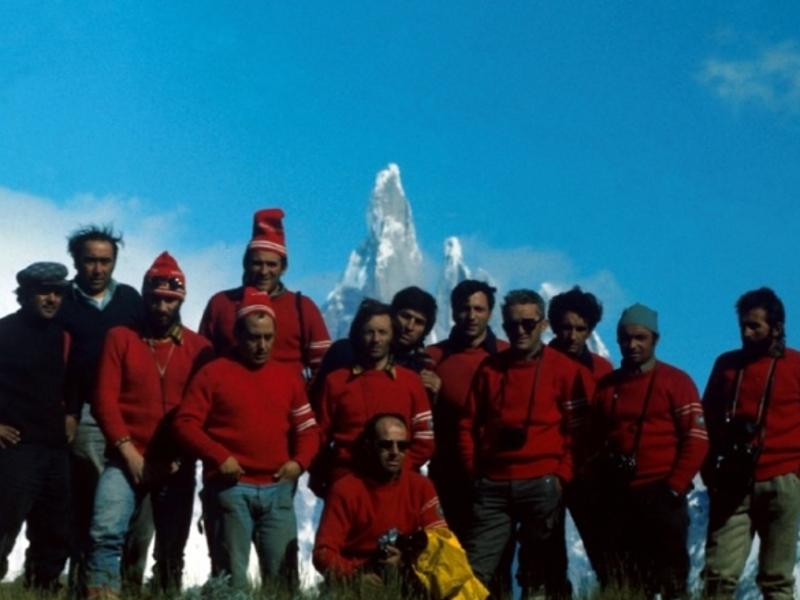 Spedizione Ragni di Lecco Cerro Torre 1974 800x600
